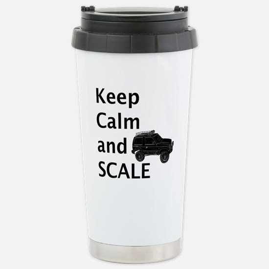 Keep Calm and SCALE Stainless Steel Travel Mug