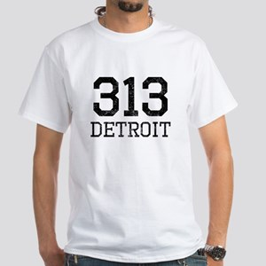 Distressed Detroit 313 T-Shirt