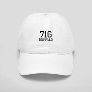 Distressed Buffalo 716 Baseball Cap