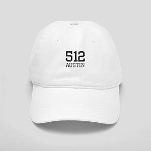 Distressed Austin 512 Baseball Cap