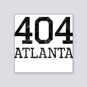 Distressed Atlanta 404 Sticker