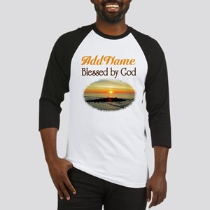 BLESSED BY GOD Baseball Jersey