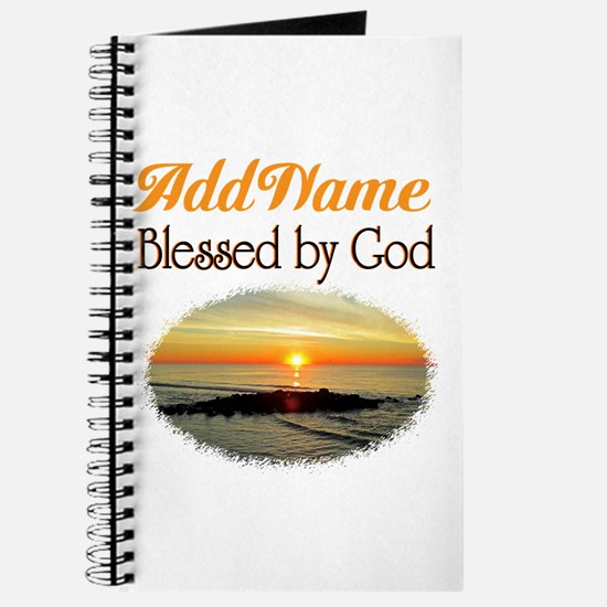 BLESSED BY GOD Journal