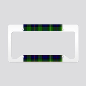adam Smith Tartan License Plate Holder