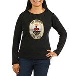 USS HEWITT Women's Long Sleeve Dark T-Shirt