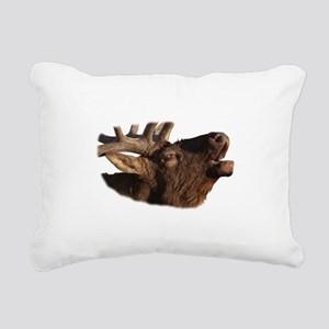 Portrait of a Bugler Rectangular Canvas Pillow