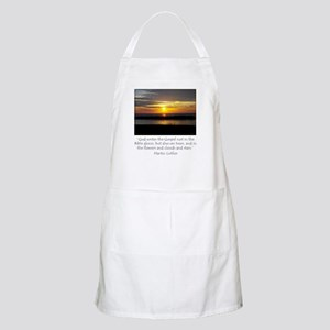 Martin Luther Nature quote Apron