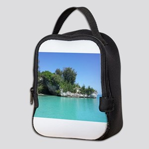 Bermuda Blue Neoprene Lunch Bag