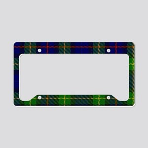 Smith Surname Tartan License Plate Holder