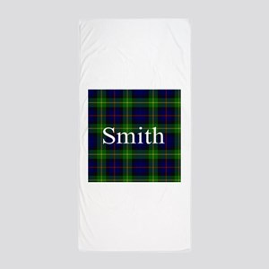 Smith Surname Tartan Beach Towel