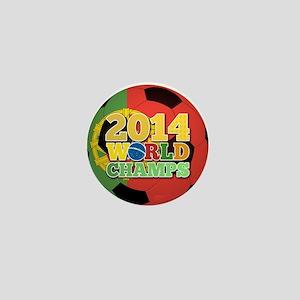 2014 World Champs Ball - Portugal Mini Button