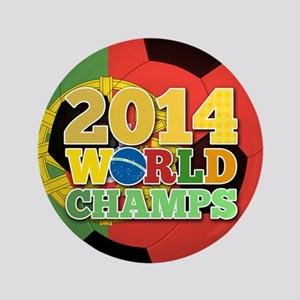 "2014 World Champs Ball - Portugal 3.5"" Button"