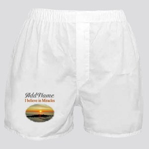 BELIEVE MIRACLES Boxer Shorts