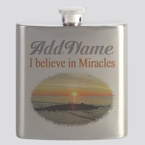 BELIEVE MIRACLES Flask