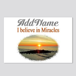 BELIEVE MIRACLES Postcards (Package of 8)