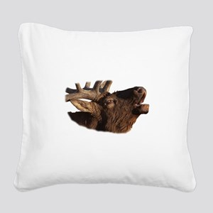 Portrait of a Bugler Square Canvas Pillow