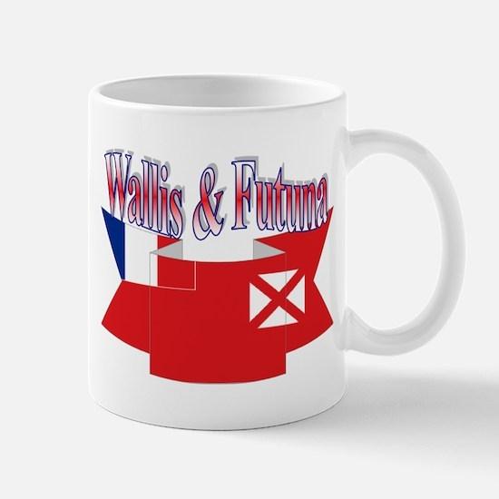 Wallis flag ribbon Mug