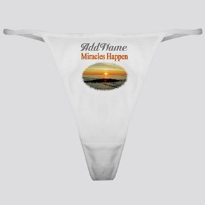 MIRACLES HAPPEN Classic Thong