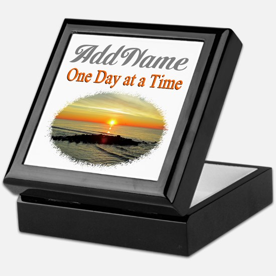 ONE DAY AT A TIME Keepsake Box
