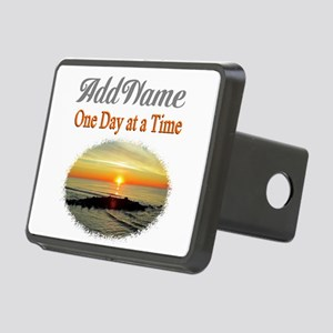 ONE DAY AT A TIME Rectangular Hitch Cover