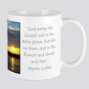 Martin Luther Nature quote Mugs