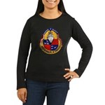 USS HERBERT J. TH Women's Long Sleeve Dark T-Shirt