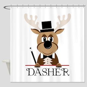 Dasher Shower Curtain