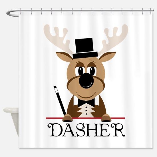 Dasher Shower Curtain