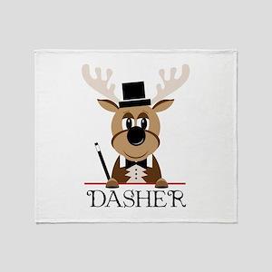 Dasher Throw Blanket