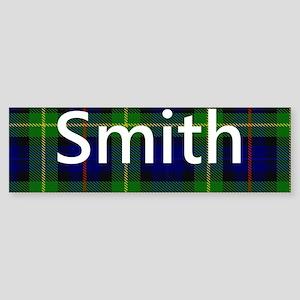Smith Family Name Tartan Personalized Bumper Stick