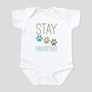 Stay Pawsitive Infant Bodysuit