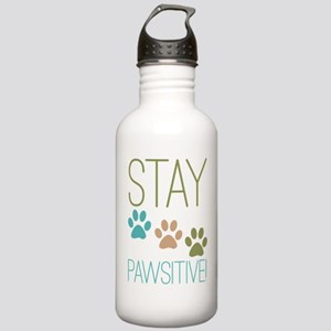 Stay Pawsitive Stainless Water Bottle 1.0L