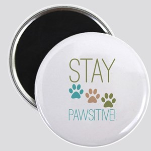 Stay Pawsitive Magnet