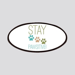 Stay Pawsitive Patches