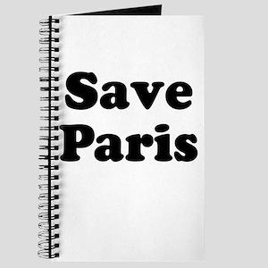 Save Paris Journal