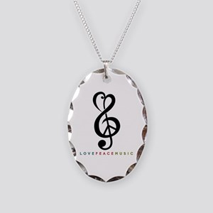 Necklace Oval Charm