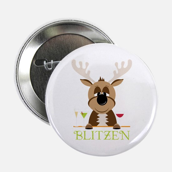 "Blitzen 2.25"" Button"