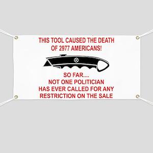 2977 Americans Dead Banner