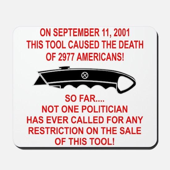 2977 Americans Dead Mousepad