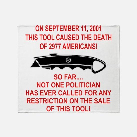 2977 Americans Dead Throw Blanket