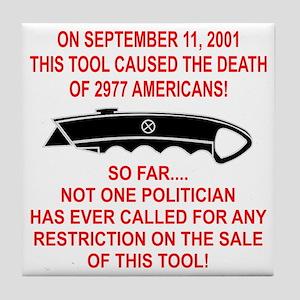 2977 Americans Dead Tile Coaster
