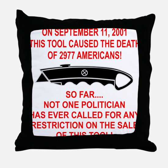 2977 Americans Dead Throw Pillow