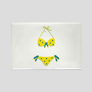 Polka Dot Bikini Magnets