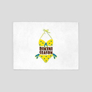 Bikini Season 5'x7'Area Rug