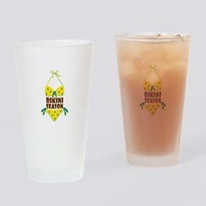 Bikini Season Drinking Glass