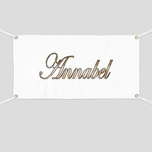 Gold Annabel Banner
