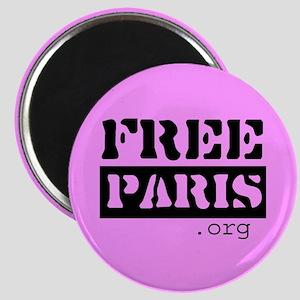 Free Paris (FreeParis.org) Magnet
