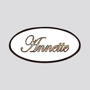 Gold Annette Patch