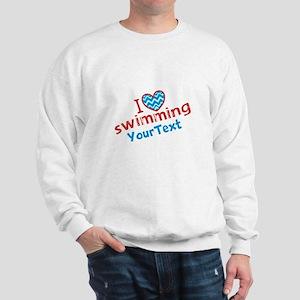 Swimming Optional Text Sweatshirt