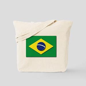 Flag - Brazil (Brasil) Tote Bag